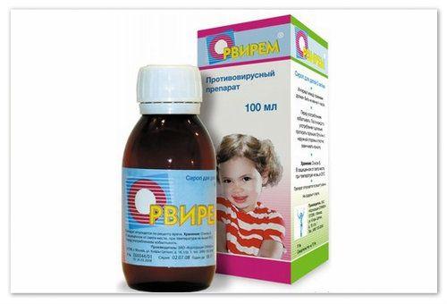 Дитячий сироп орвірем - допоможе, якщо правильно застосовувати