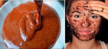 рецепти скрабів з кави для комбінованої шкіри обличчя