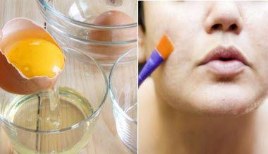 омолоджуючі і очищають маски з білка і жовтка