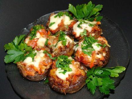Як приготувати гриби з начинкою