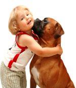 собака для дитини