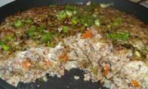 картопляна запіканка з печінкою (від 3 до 7 років)