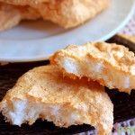 Кокосове печиво на білках (без борошна) «ніжні хмари»: рецепт приготування з покроковими фото
