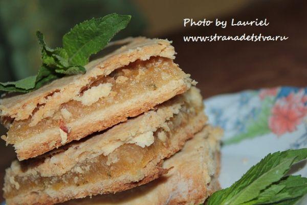 Лимонний пиріг - рецепт з фото.