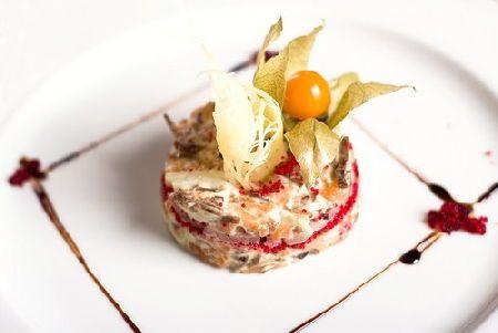 М`ясні салати з сардинами