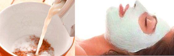 омолоджуючі маски з молока за рецептами