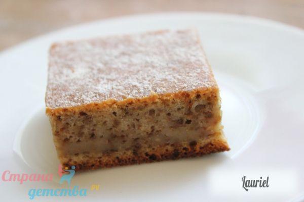 Горіховий пиріг - рецепт з фото.