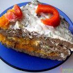 Печінковий тортик для дорослих і дітей. Рецепт приготування печінкового торта