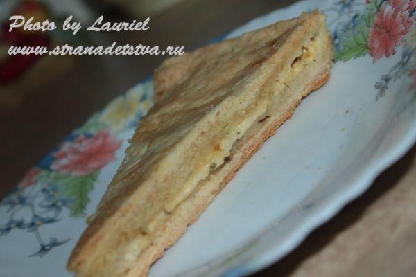 Пиріг з сиром - рецепт з фото.
