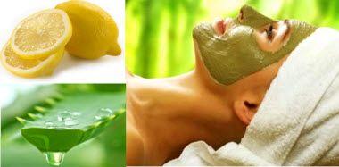 омолоджуючі маски з соку алое або лимона за рецептами
