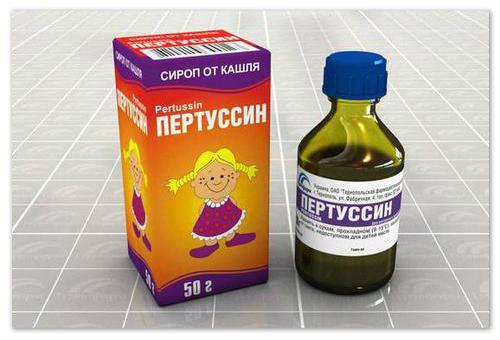 Застосування сиропу пертуссин для лікування кашлю у дітей