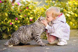 Кішечки і діти
