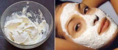 омолоджуючі маски зі сметани за рецептами