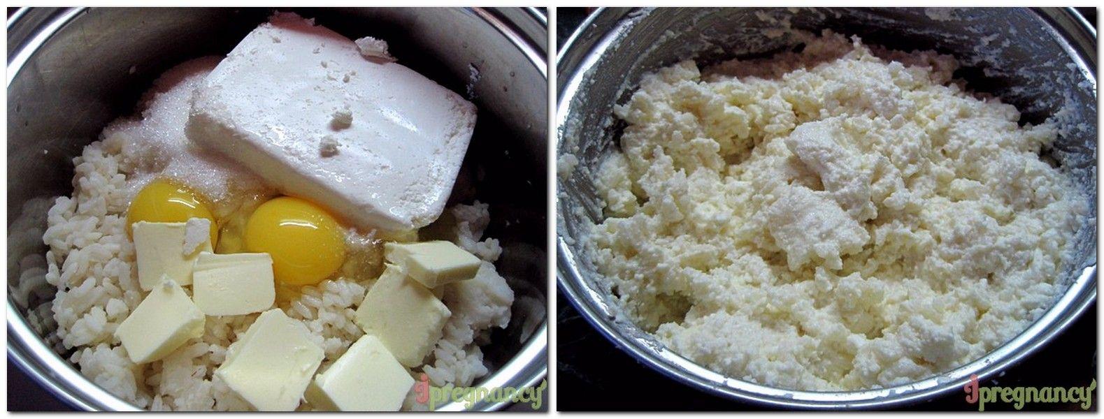 рисово-сирне тісто