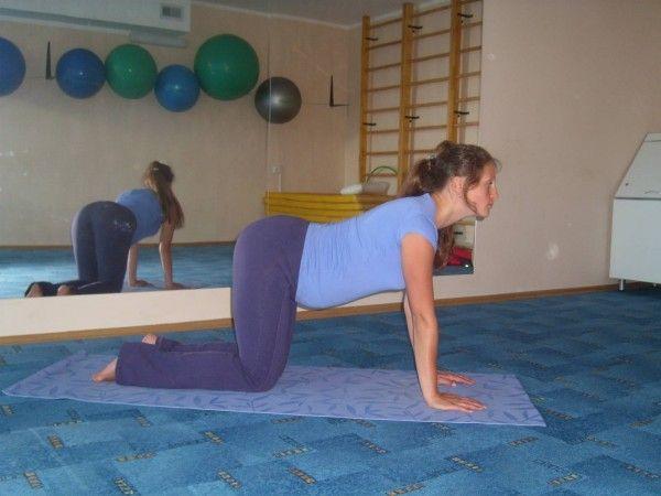 Вправи йоги для вагітних на першому триместрі