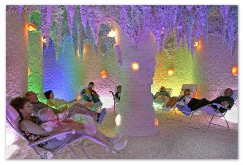 Віртуальна «екскурсія» в соляну печеру - для дітей і мам