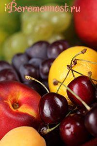 Свіжі фрукти і ягоди