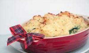 запіканка з картоплі і капусти (від 3 до 7 років)