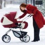 Зимові коляски для новонароджених - вибираємо разом
